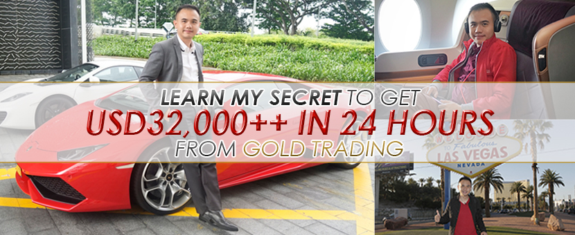 LEARN MY SECRET TO GET USD32,000++ IN 24 HOURS FROM GOLD TRADING