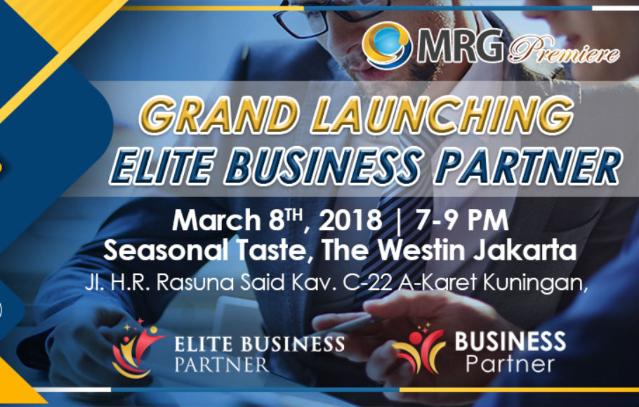 GRAND LAUNCHING ELITE BUSSINESS PARTNER MRG PREMIERE
