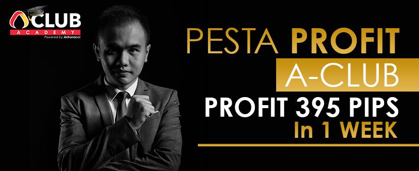 Rahasia Profit $13,741 / 395 Pips Dalam 1 Minggu
