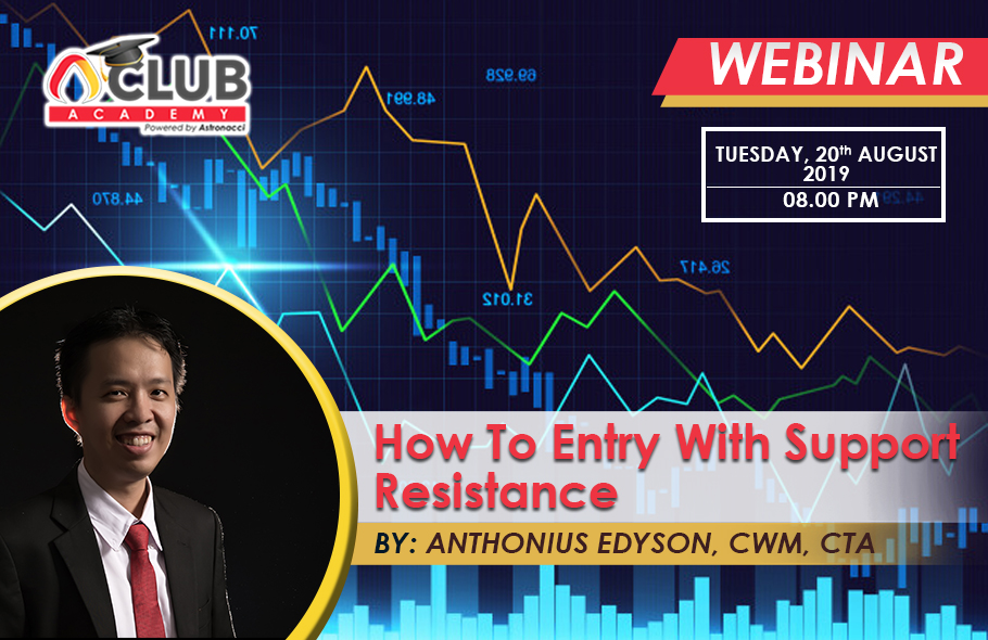 How To Entry With Support Resistance