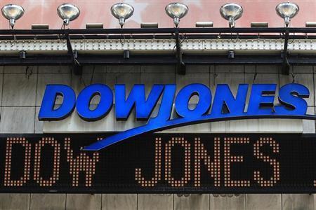 Distribution for Dow Jones
