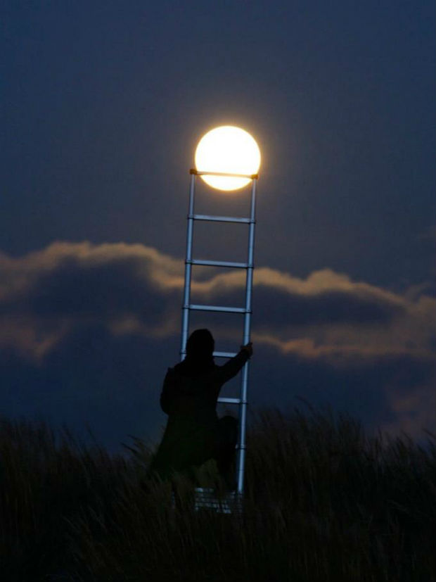 Climbing to The Next New Moon